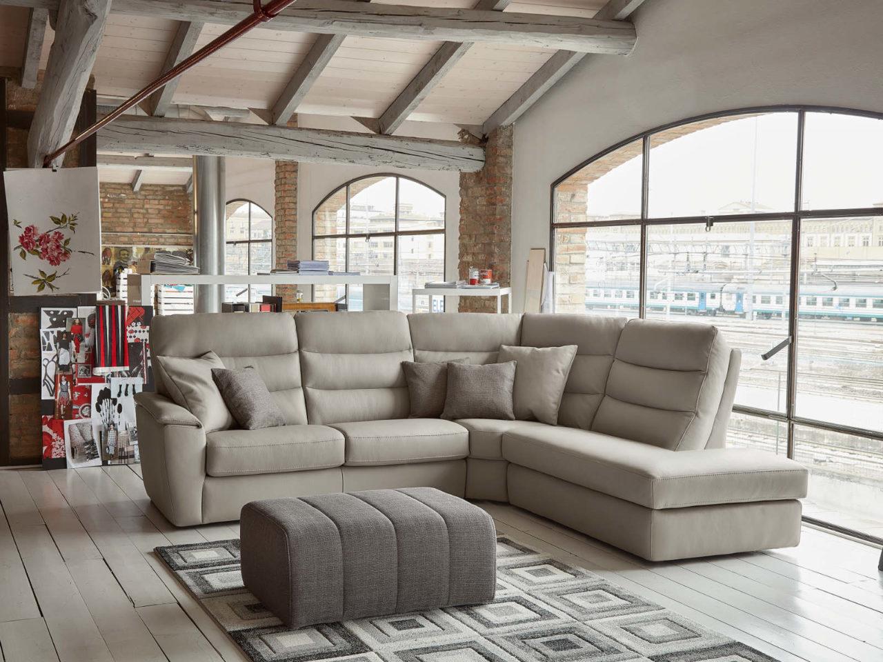 Composizione divano moderno Laurent