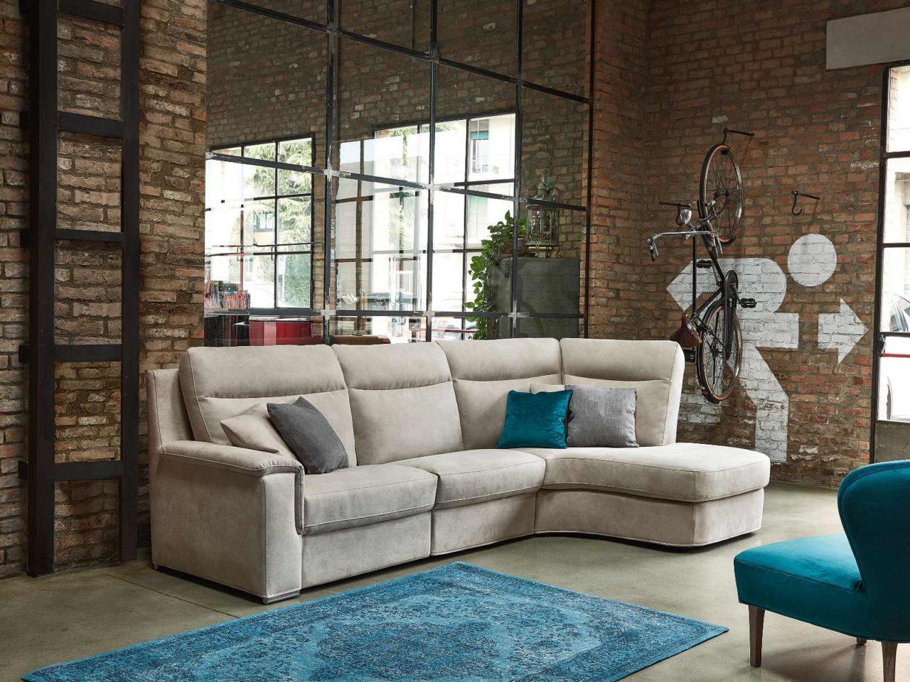 Composizione divano moderno Lim Comfort