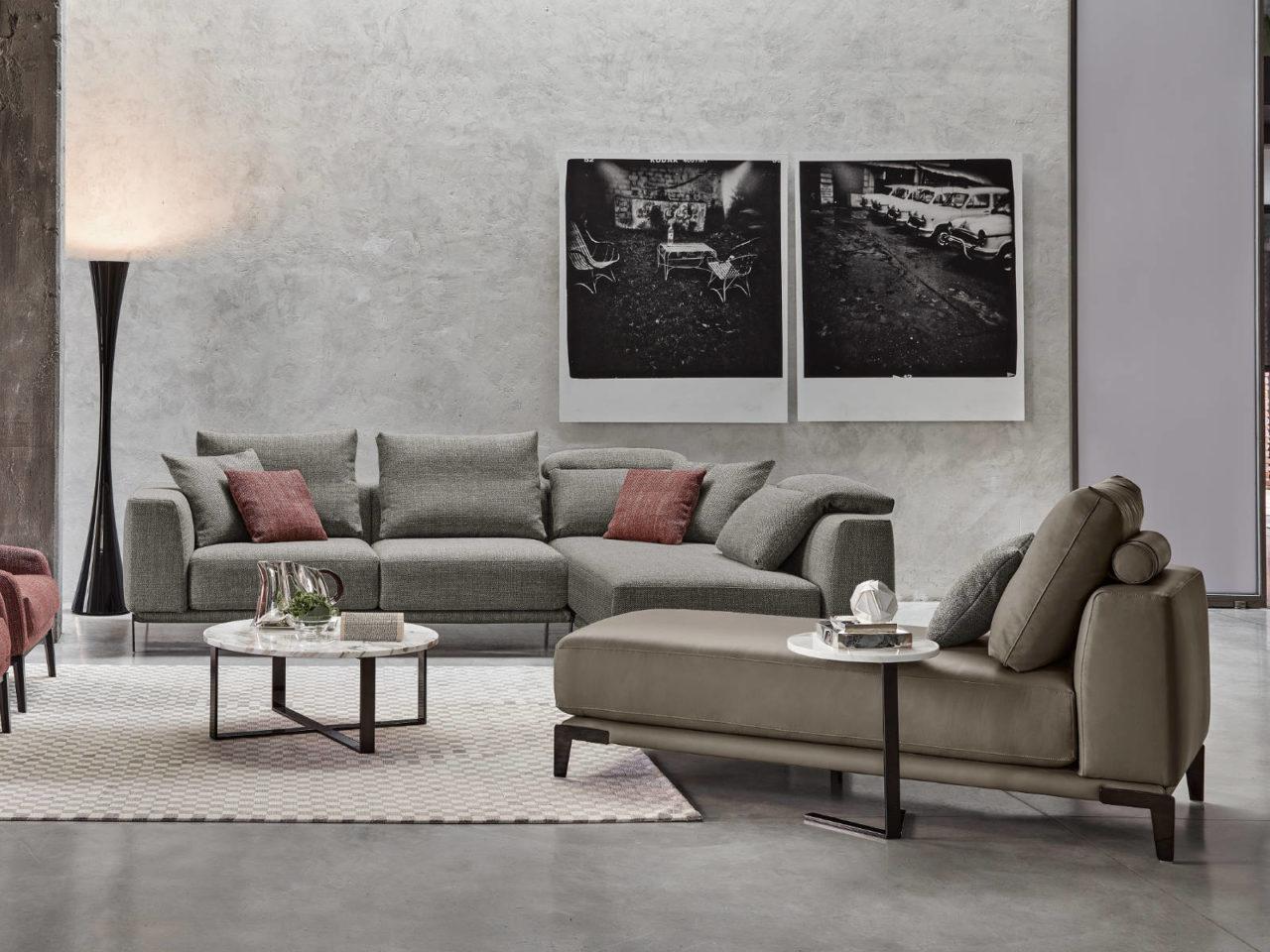 Composizione divano moderno Russell