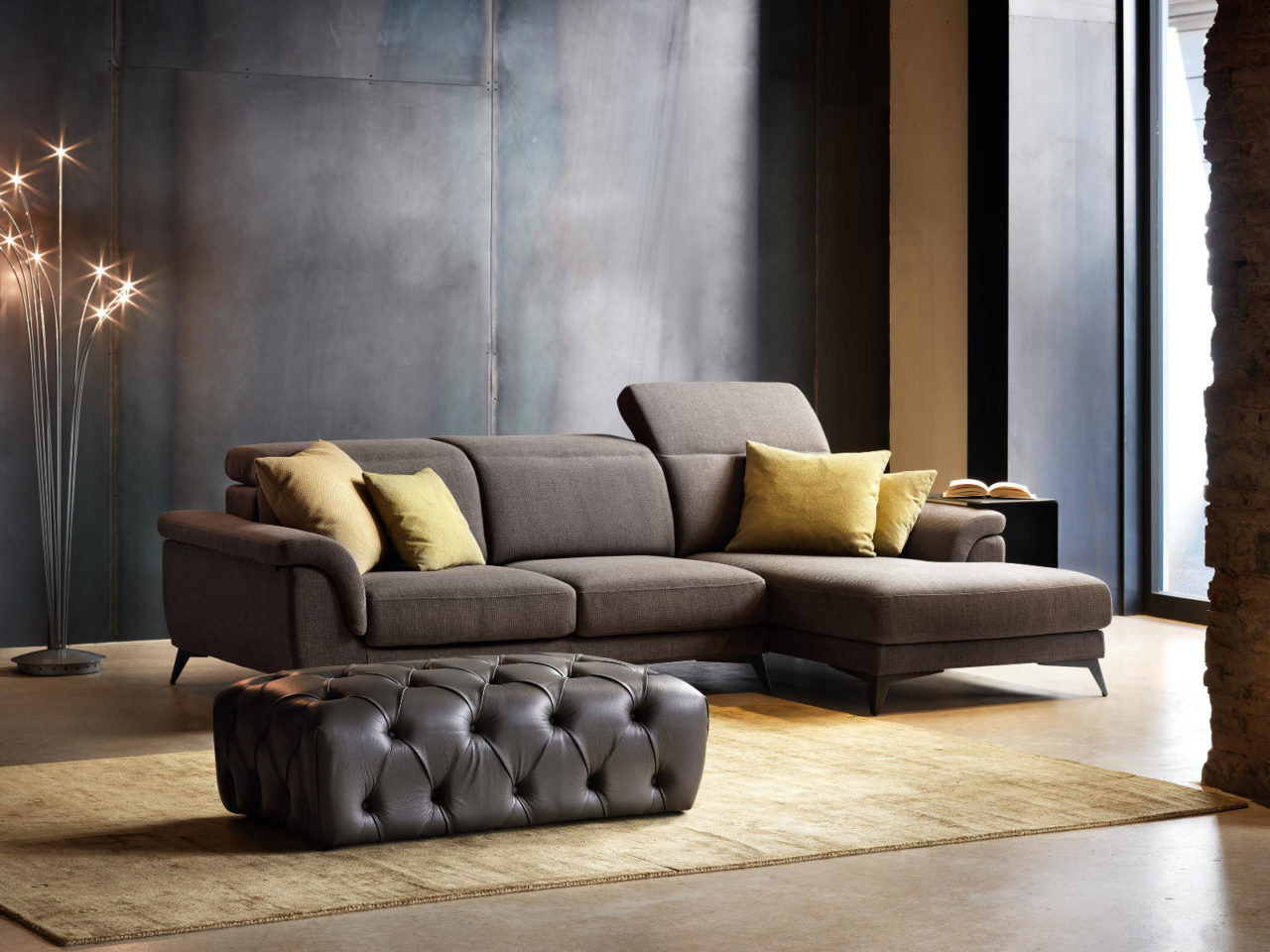 Composizione divano moderno Senet Top