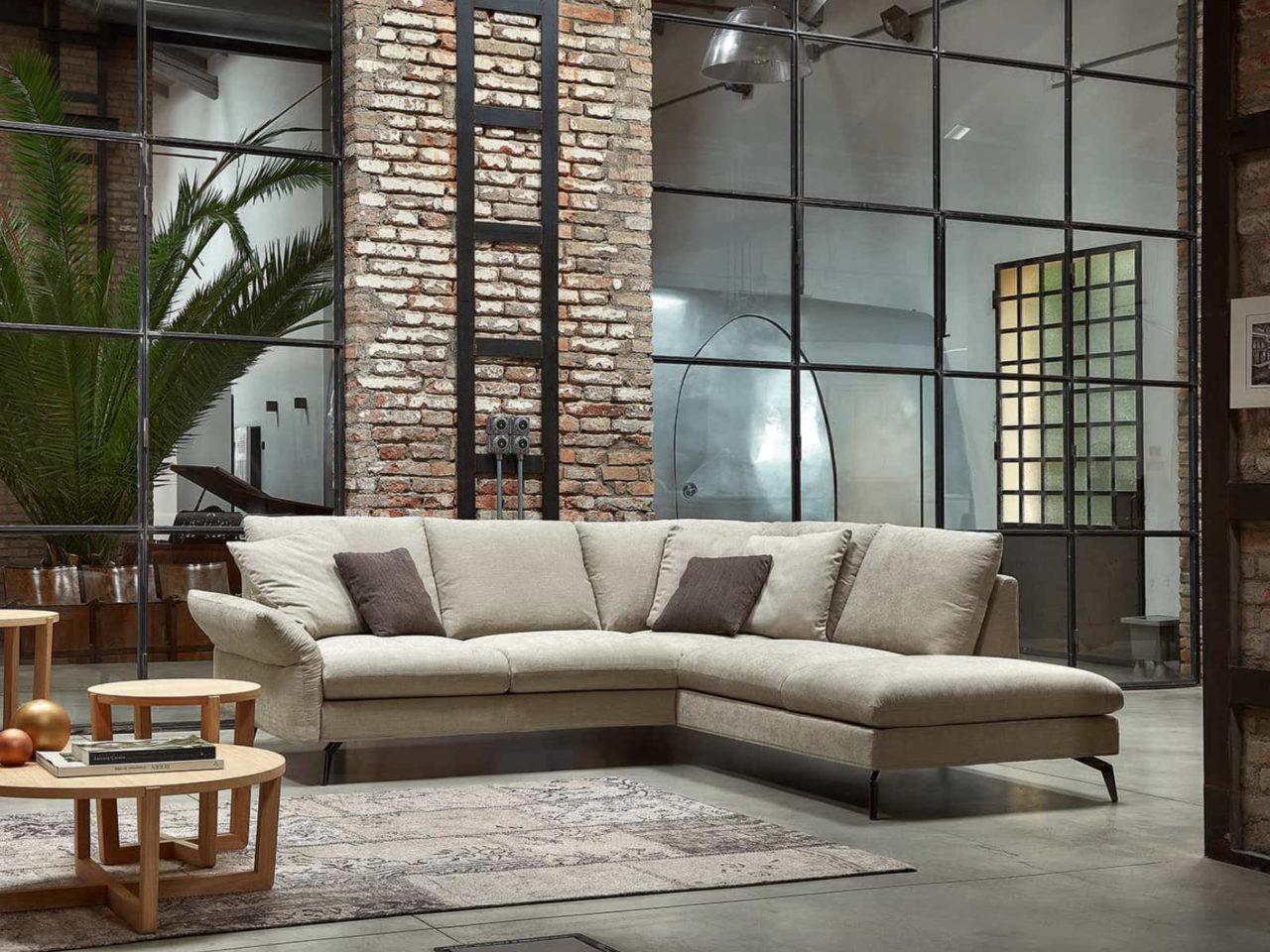 Composizione divano moderno Wembley Top