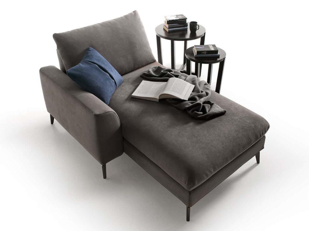 Penisola divano moderno Wembley Top