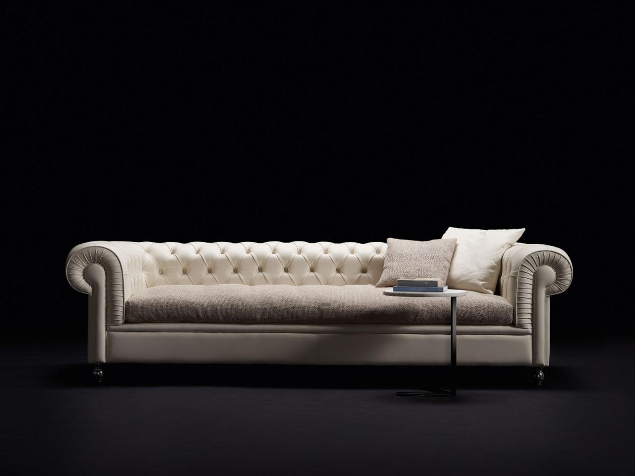 Composizione divano classico Hughton