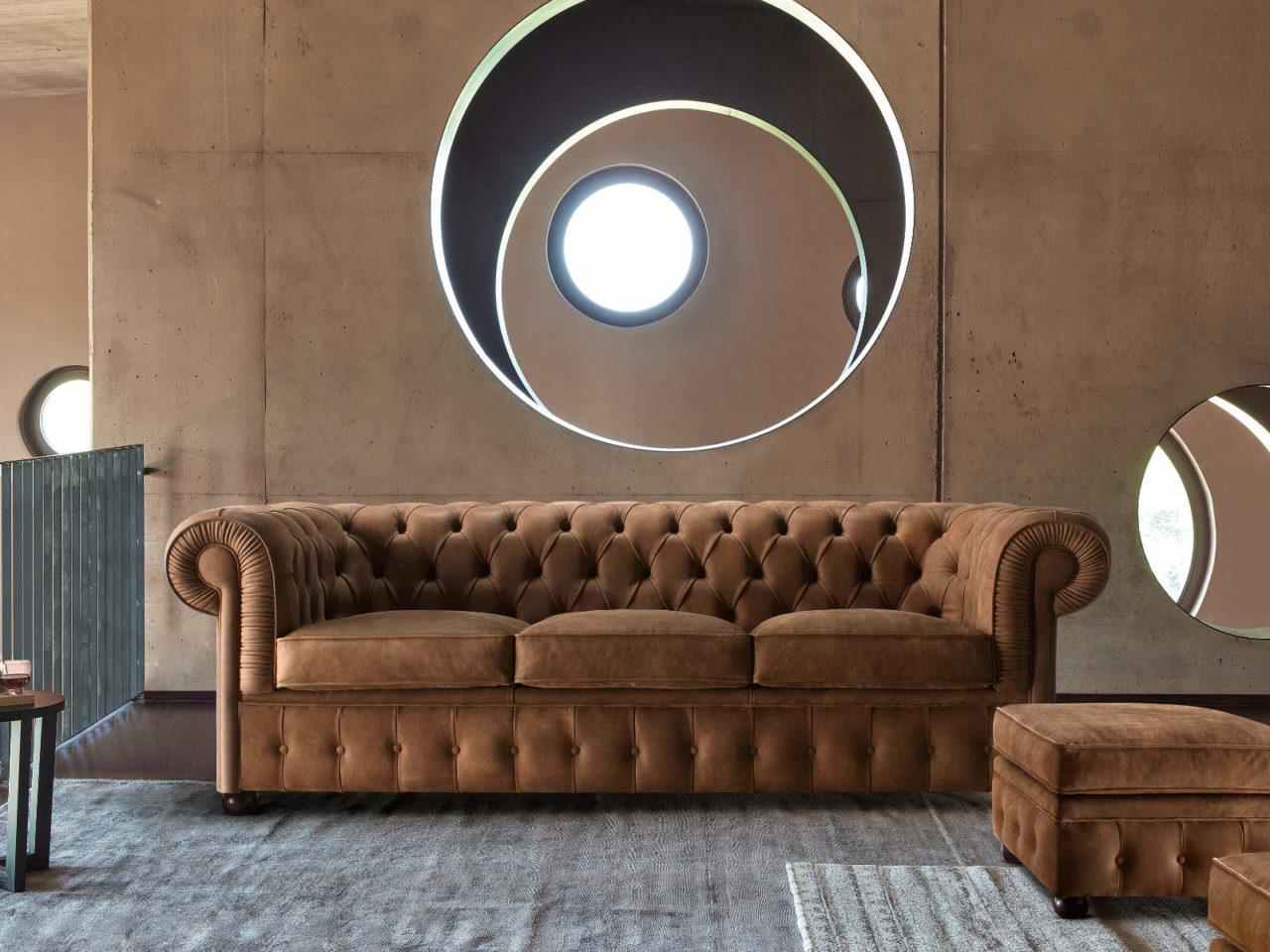 Composizione divano classico Morris