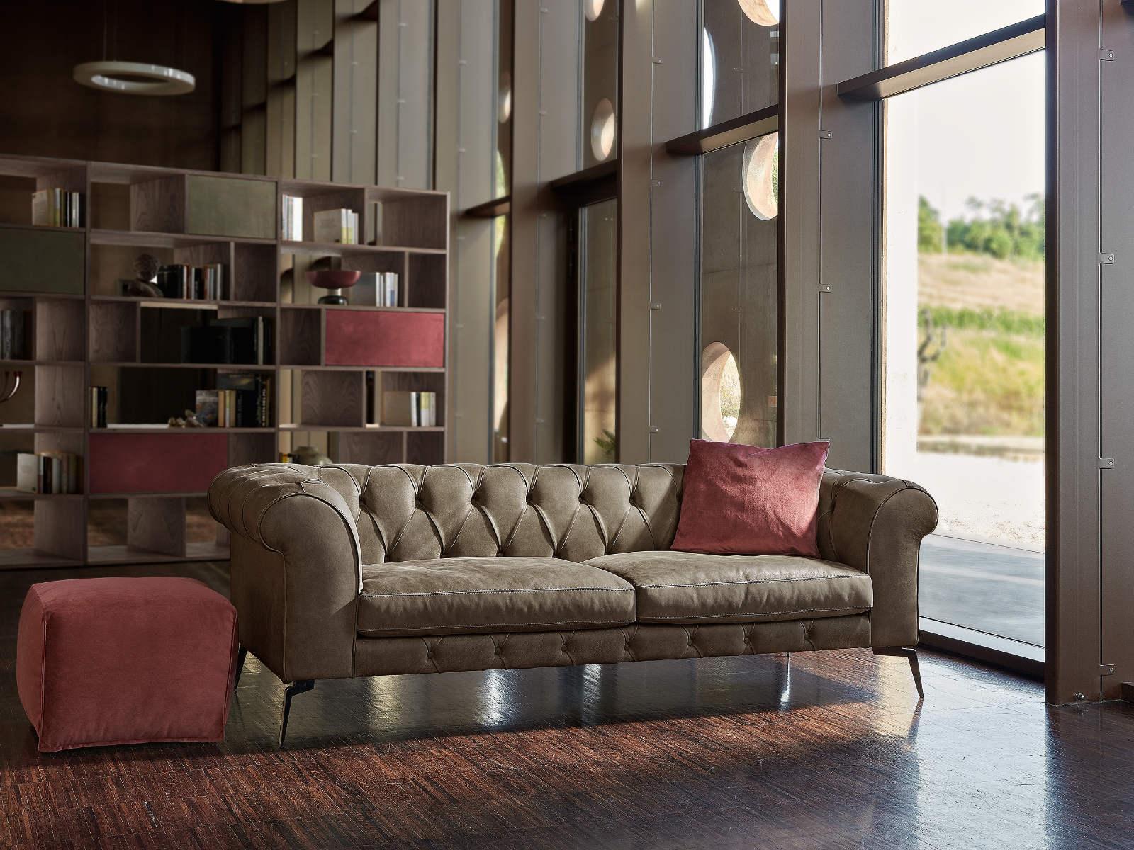 Composizione divano classico Nettuno