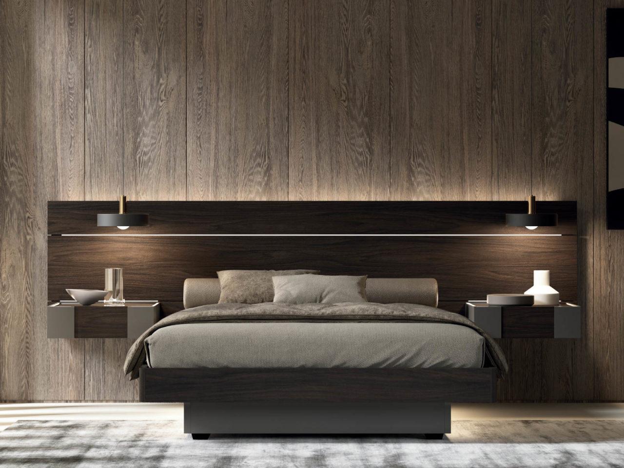 Composizione letto in legno Whoa